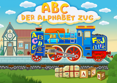 ABC – der Alphabet Zug