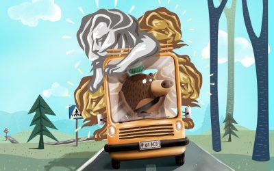 Cu autobuzul de la Cannes