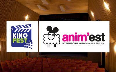 Animații pentru copii la Kinofest și Anim'est