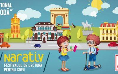 Copii, reinventați poveștile! Haideți la NARATIV!