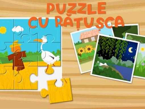 Puzzle cu rățușca