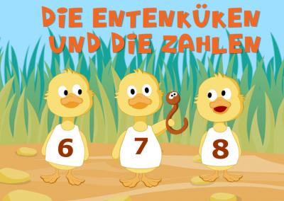 Die Entenküken und die Zahlen