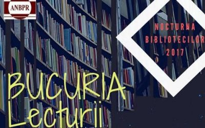 """Teatru, film, roboți și dinozauri la """"Nocturna bibliotecilor"""""""