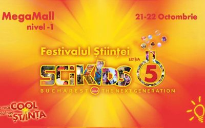 Copii, să experimentăm la SCIKiDS Festivalul Științei!