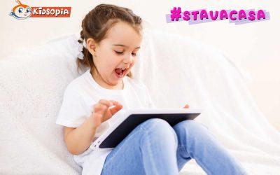 Kidsopia oferă tuturor copiilor care #STAUACASA deblocarea gratuită a tuturor aplicațiilor educative pentru preșcolari
